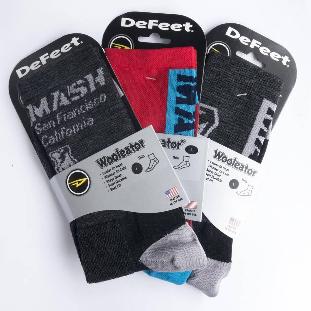 MASH Multi-Stripe Wool High Socks