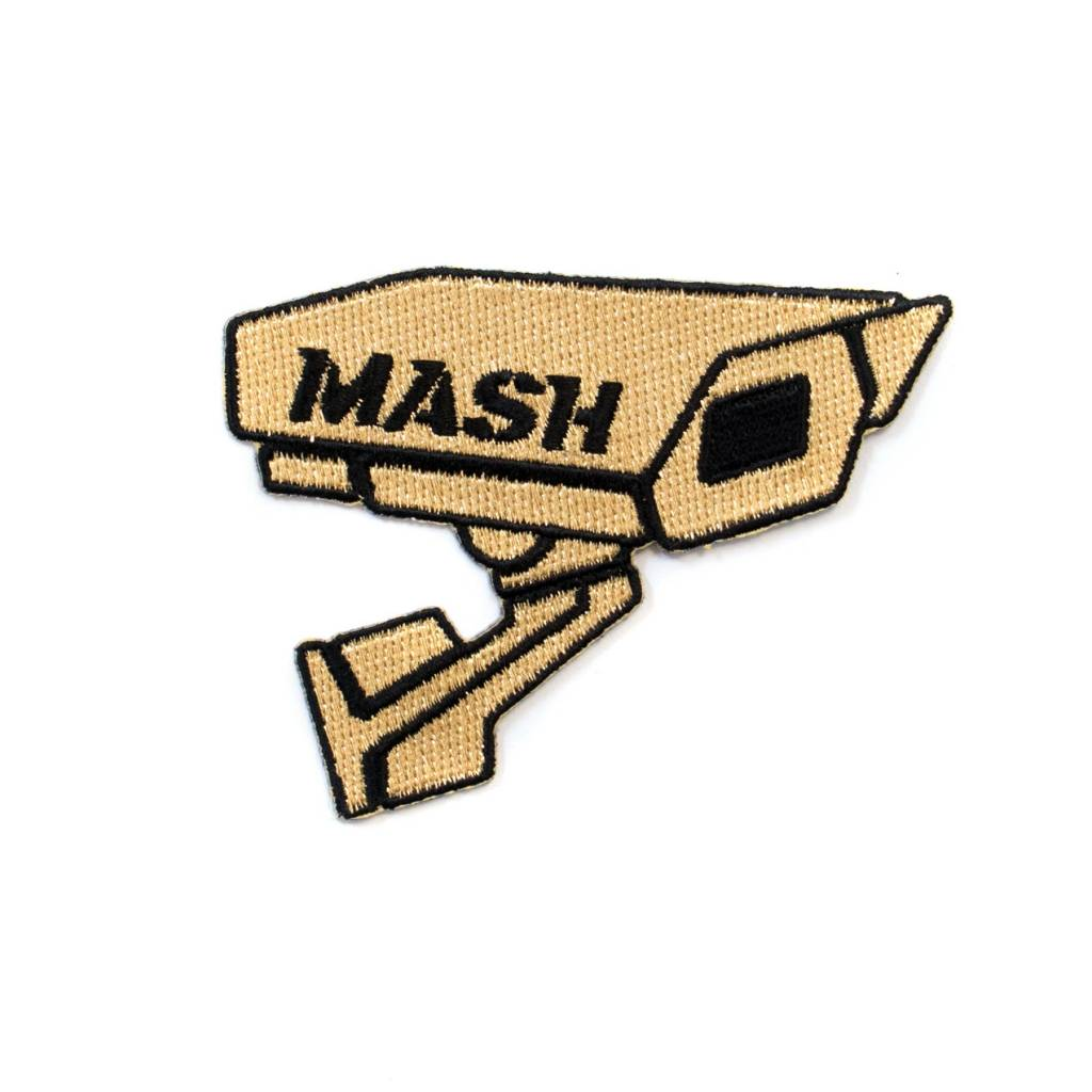 MASH CCTV Patch Gold
