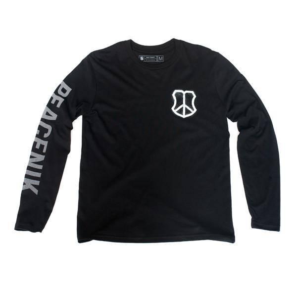 MASH Peacenik Longsleeve Shirt Black