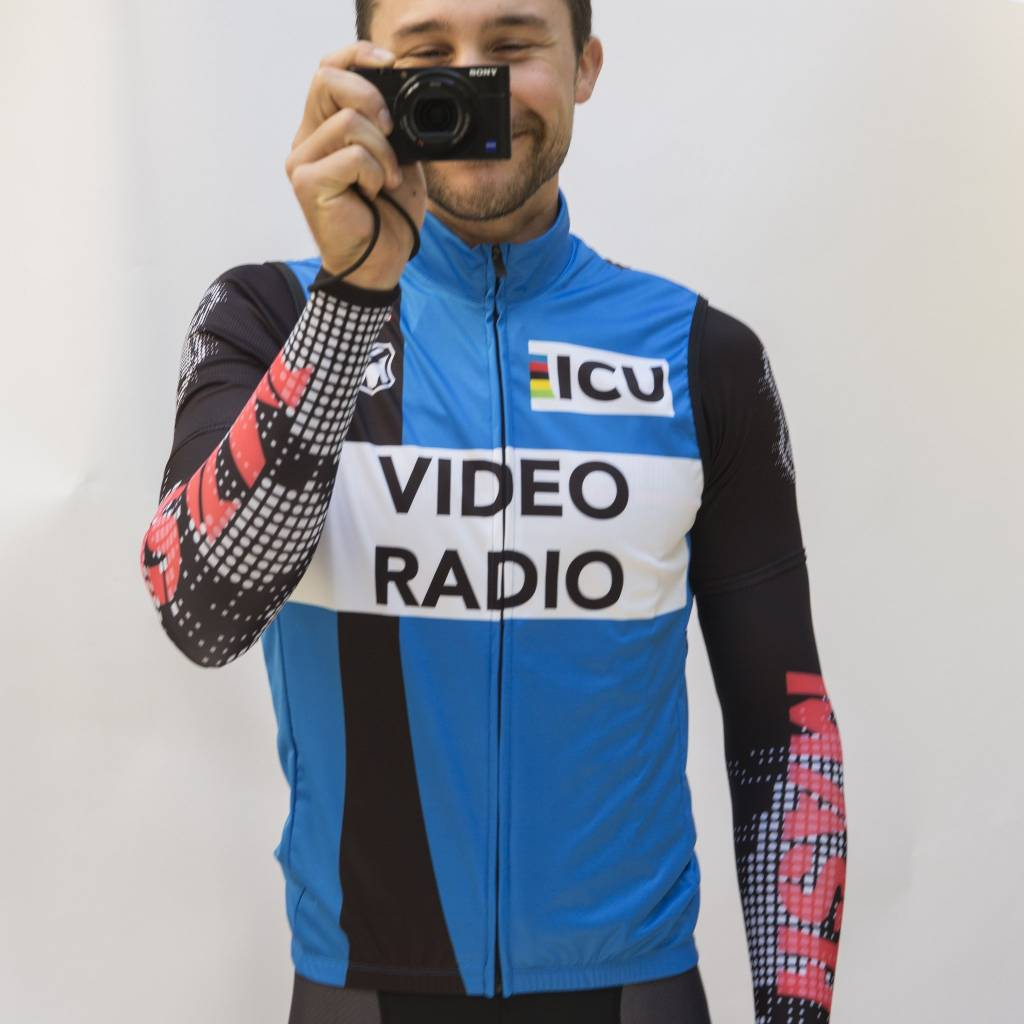 MASH ICU VIDEO BLUE VEST