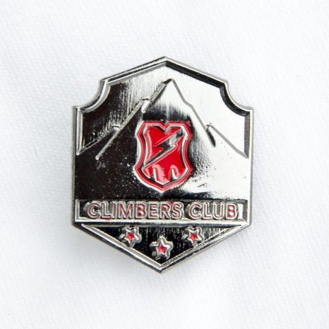 Climbers Club Pin