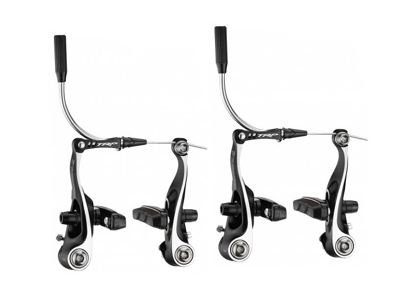 TRP CX8.4 Mini Linear Pull Brake Set, Front and Rear, Black