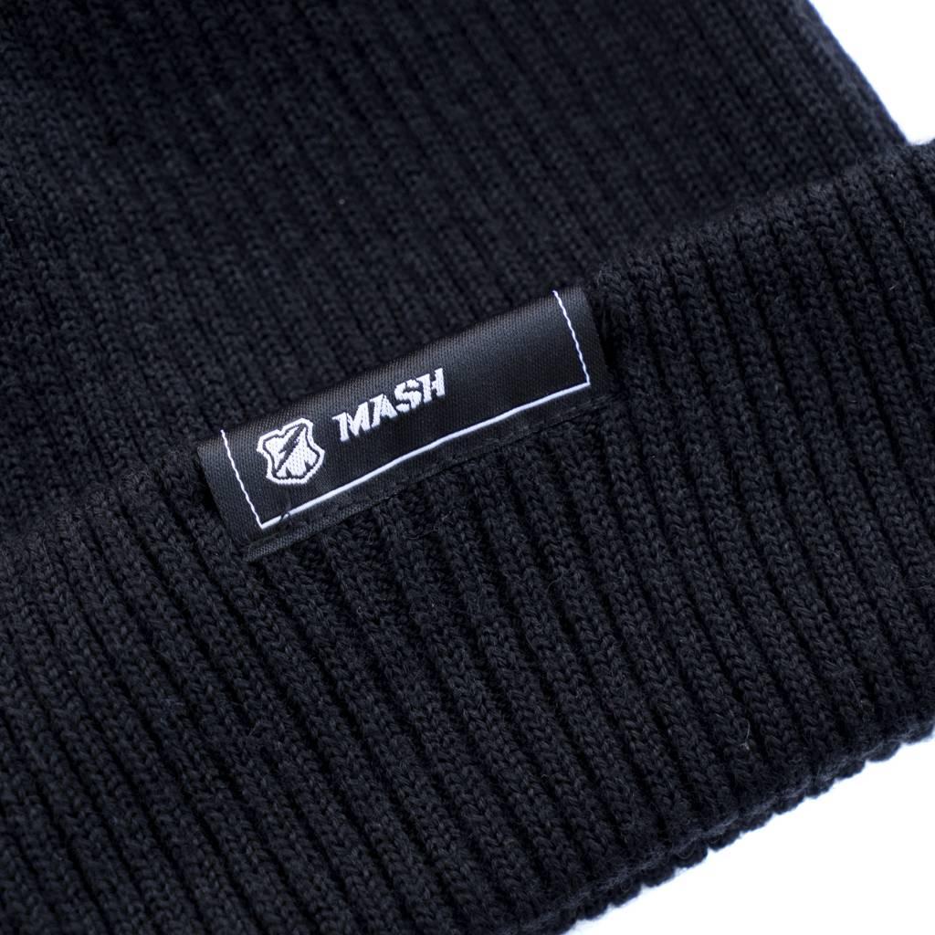 MASH Merino Wool Beanie Black