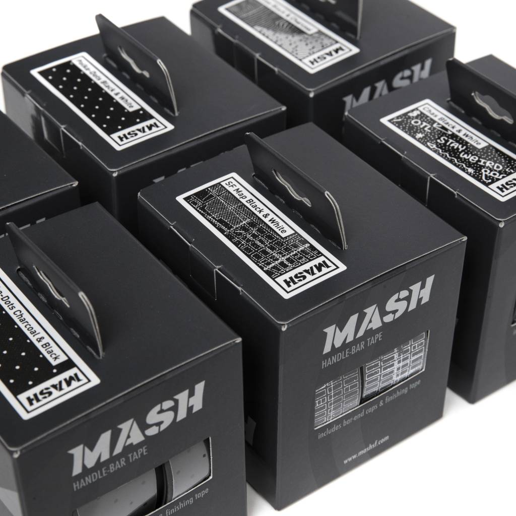 MASH Dots Tape Charcoal Gray