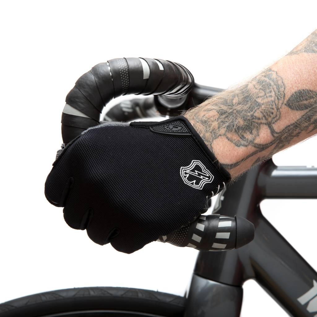 MASH DND Gloves X-Grid Black