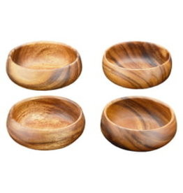 Pacific Merchants Round Calabash Bowl-6 inch-wooden