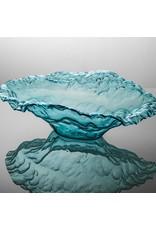 Annie Glass Annie Glass-Ultramarine Water Bowl Sculpture