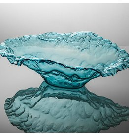 Annie Glass Annie Glass-Ultramarine Water Bowl Sculpture
