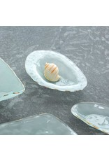 """Annie Glass Annie Glass-Shell Series-Abalone-10"""" Gold"""