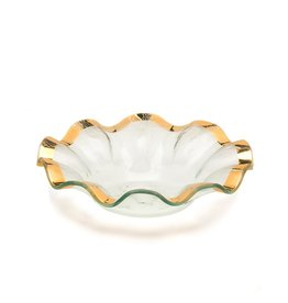 Annie Glass Annie Glass-Ruffle Soup Bowl 10 inch