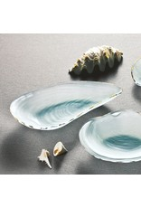 Annie Glass Annie Glass-Oyster Shell-Frosted Gold