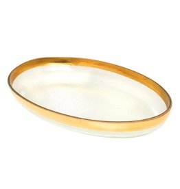 Annie Glass Annie Glass-Mod Large Oval Platter
