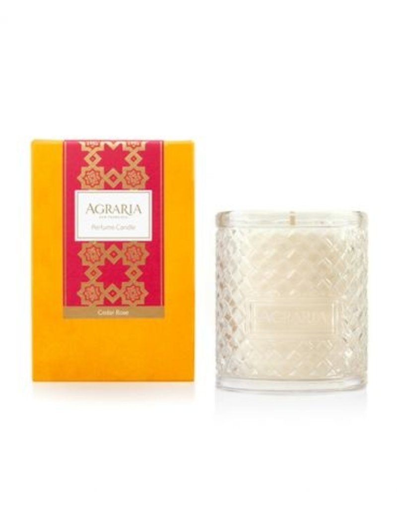 Agraria Woven Crystal Candle-7oz.