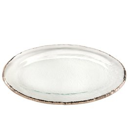 Annie Glass Annie Glass-Edgey-Large Oval Platter