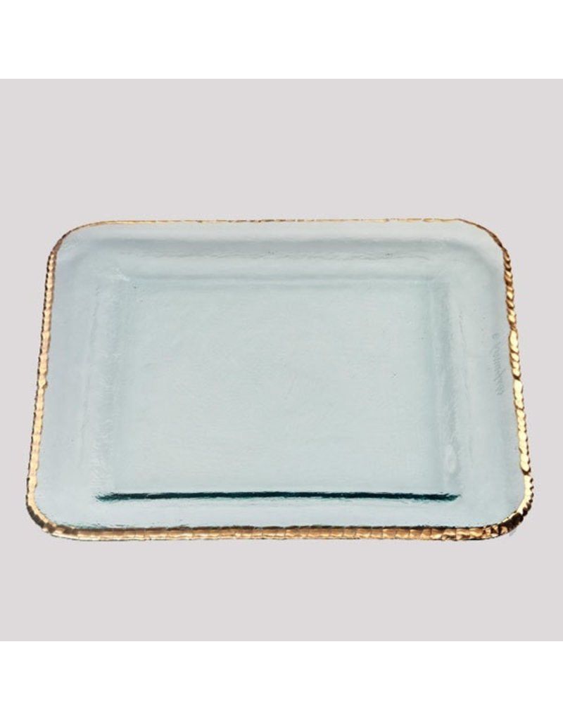 Annie Glass Annie Glass-Edgey Large Square Platter