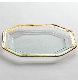 Annie Glass Annie Glass-Roman Antique-Steak Platter-SM.