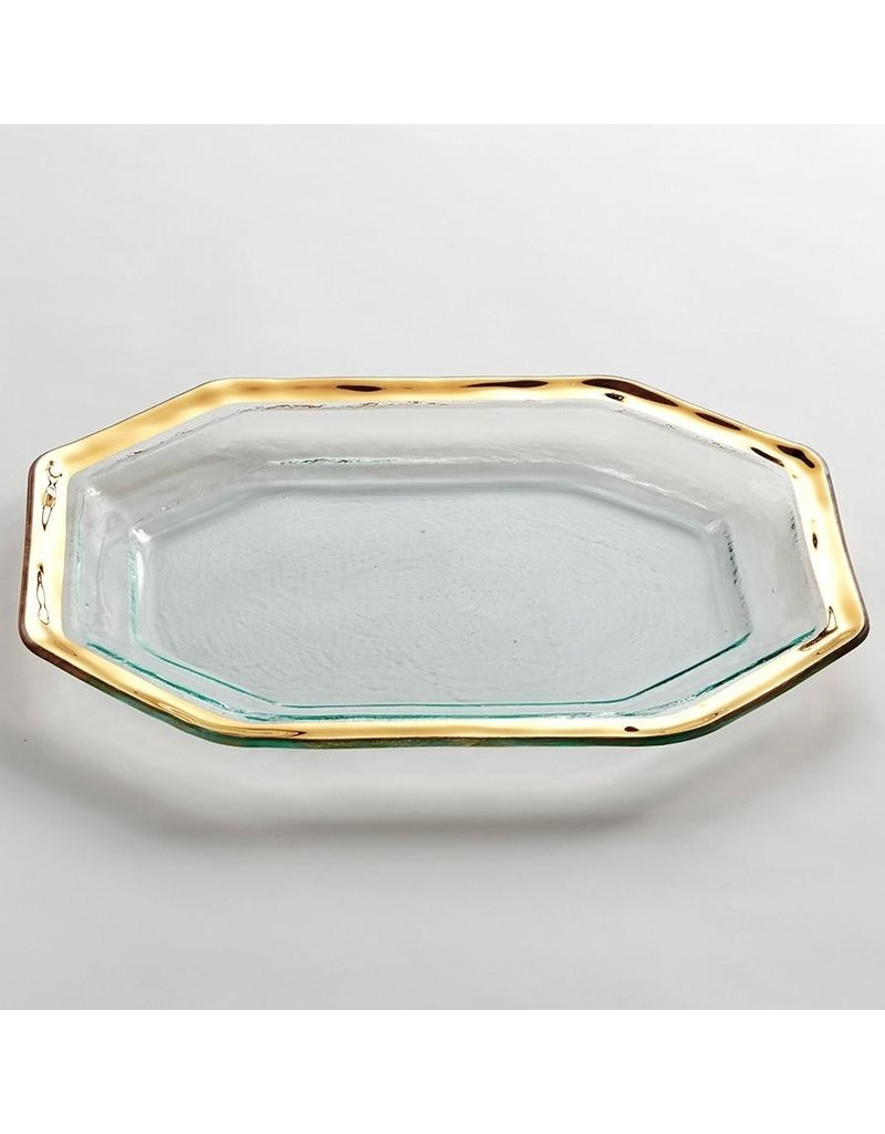 Annie Glass Annie Glass-Roman Antique-Steak Platter-SM.