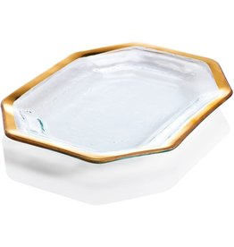Annie Glass Annie Glass-Roman Antique Steak Platter-LG