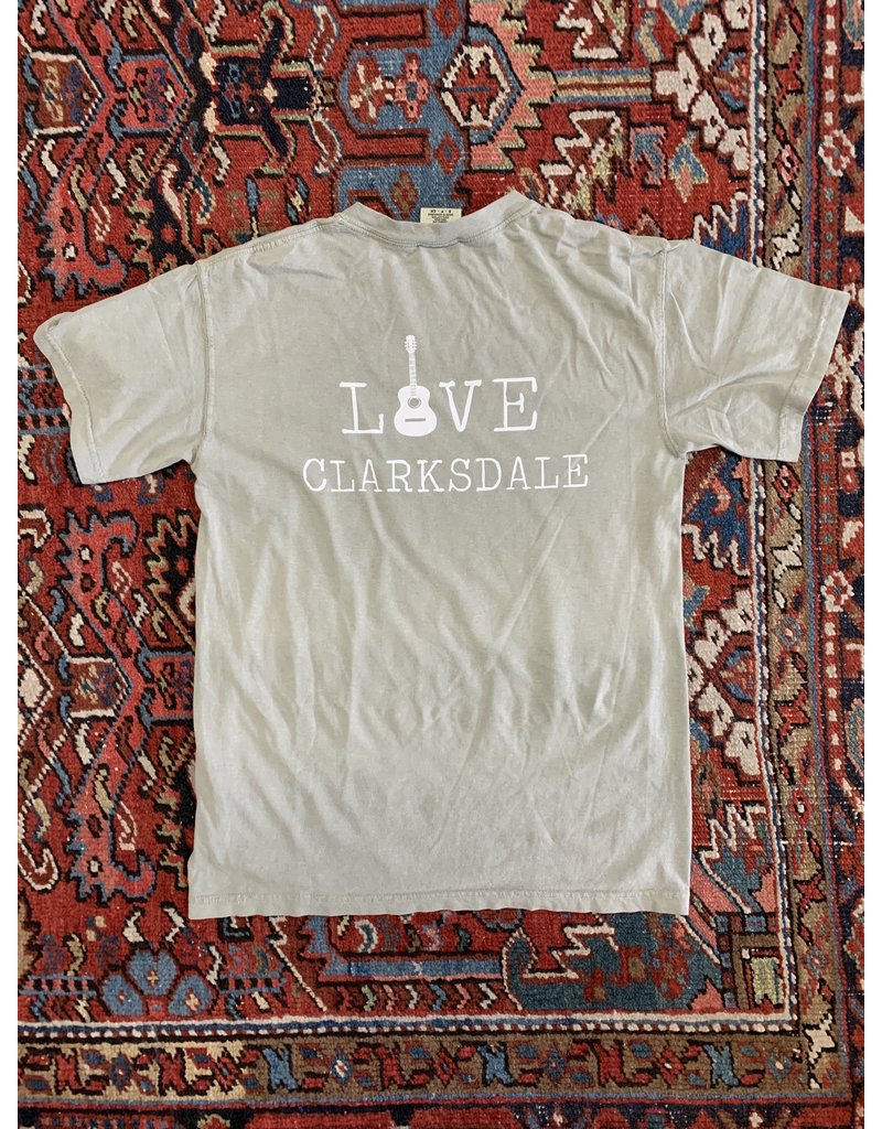 Love Clarksdale Guitar T-Shirt