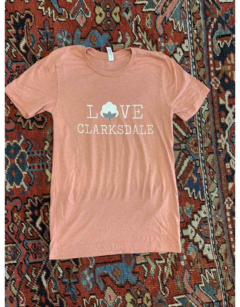 Love Clarksdale Cotton T-Shirt