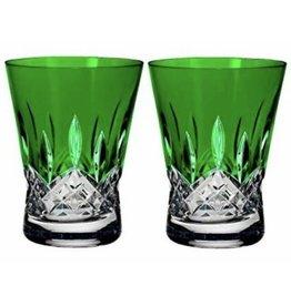 Waterford Lismore Pops DOF Emerald-Pair