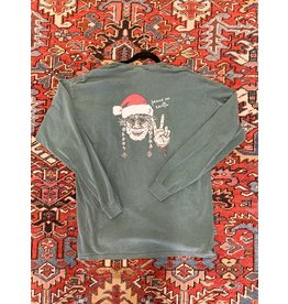 South Home & Apparel Comfort Colors LS Hippy Santa