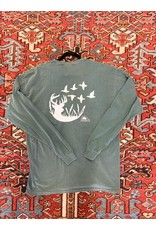 South Home & Apparel Comfort Color LS Duck/Buck Silhouette