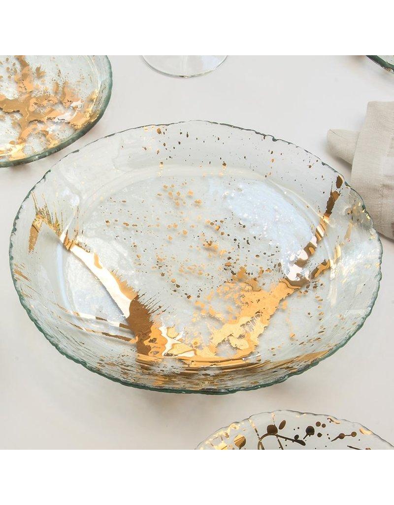 Annie Glass Annie Glass-Jaxson-12 1/2 Serving Bowl