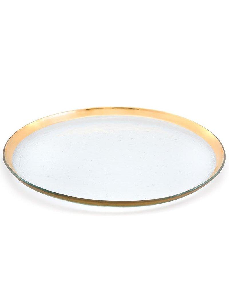Annie Glass Annie Glass-Roman Antique-Round Party Platter