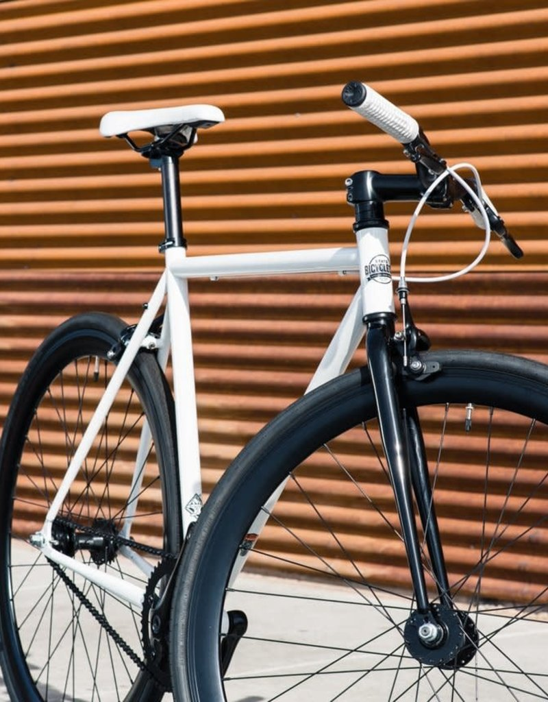 State Bicycle Co. State Ghoul - Core Line Single Speed/Fixed Gear Bike, 50cm (small) - Riser Bar