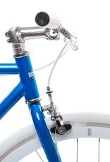 State Bicycle Co. State Blue Jay - Core Line Single Speed/Fixed Gear Bike, 58cm (large) - Riser Bar
