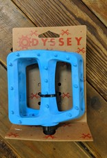 "ODYSSEY Odyssey Twisted PC Pedals - Platform, Composite, 9/16"", Ocean Blue"