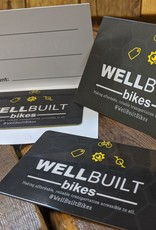 WellBuilt Bikes Gift Card