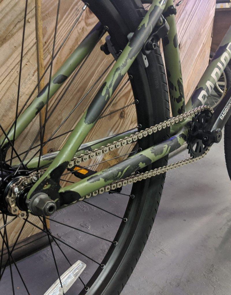 """Radio Radio Ceptor 26"""" BMX Bike - 22.7"""" TT, Olive Camo"""