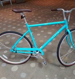 Civia Civia Venue Single-Speed Coaster Bike - 700c, Aluminum, Aqua/White, Large