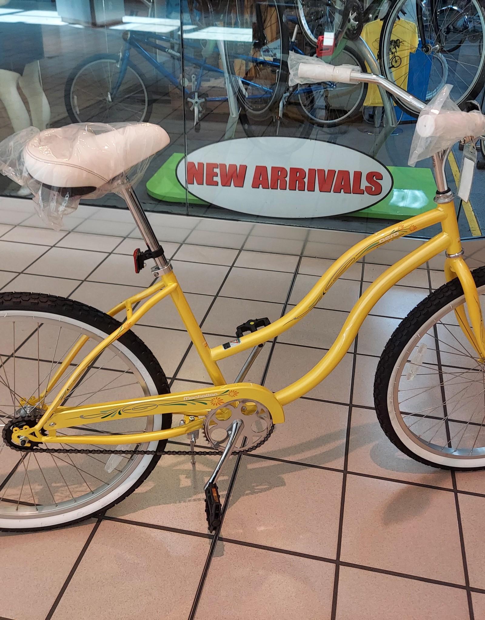 KHS KHS Aero Yellow Ladies Cruiser 2021