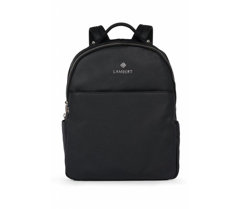 LAMBERT CHARLOTTE BLACK DIAPER BAG