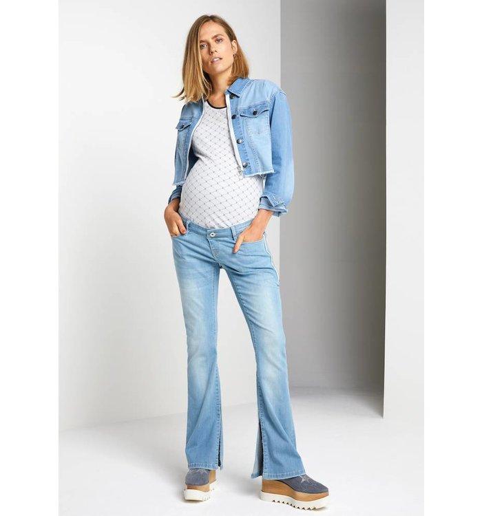 SUPERMOM Supermom Maternity Jean Jacket, PE19