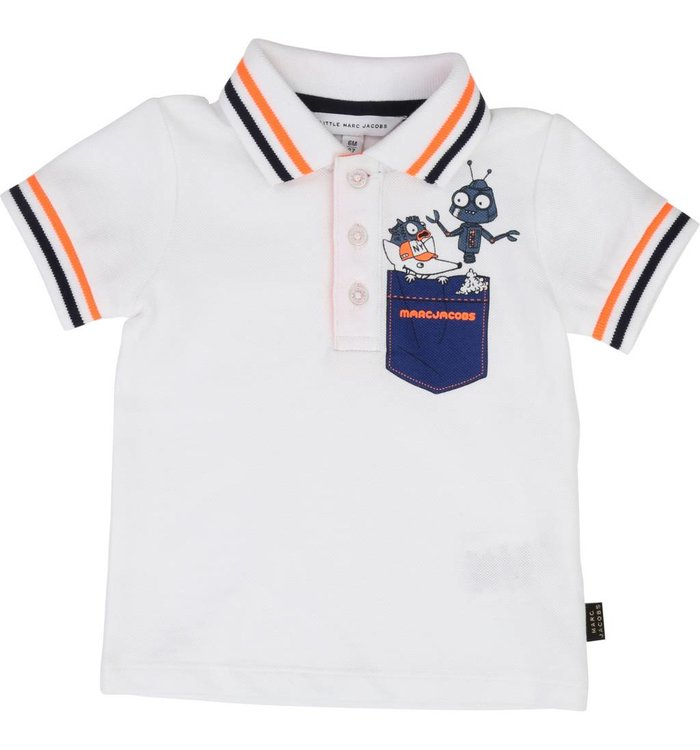 Little Marc Jacobs Boy's Polo, PE19