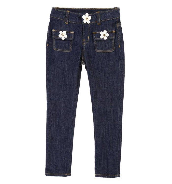 Little Marc Jacobs Girl's Jeans, PE19