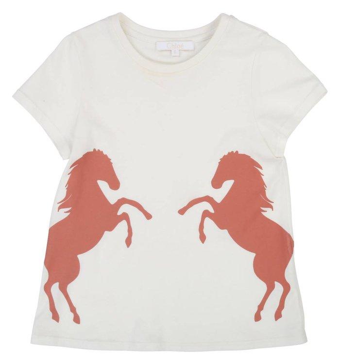Chloé T-Shirt Fille Chloé, PE19
