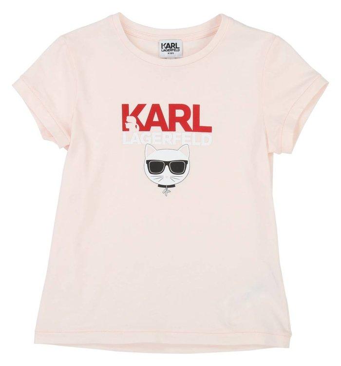Karl Lagerfeld T-Shirt Fille Karl Lagerfeld, PE19