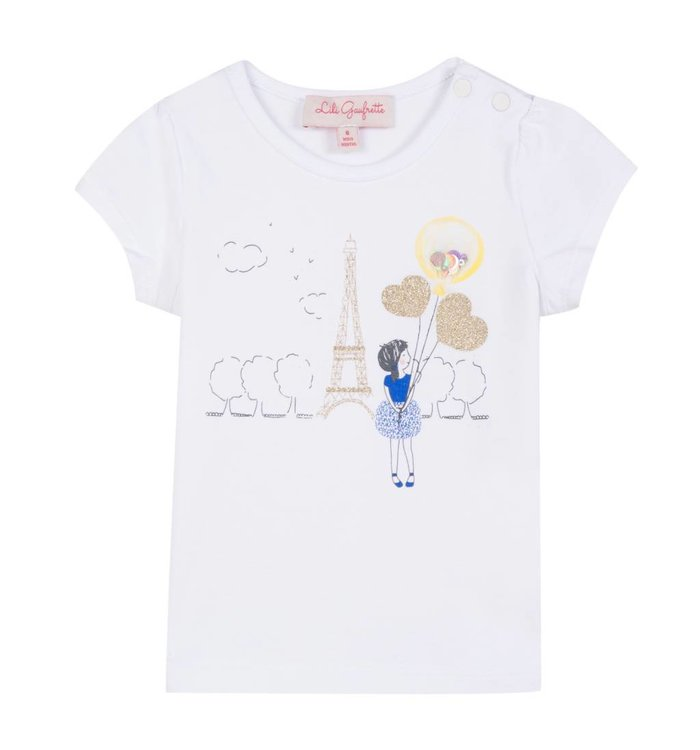 Lili Gaufrette T-Shirt Fille Lili Gaufrette, PE19