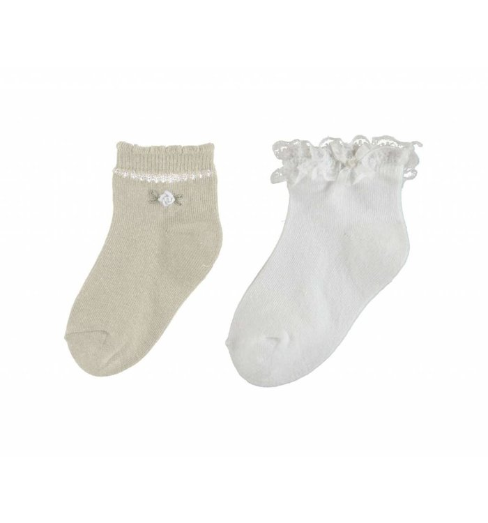 Mayoral Mayoral Set of 2 Paires of Socks, CR