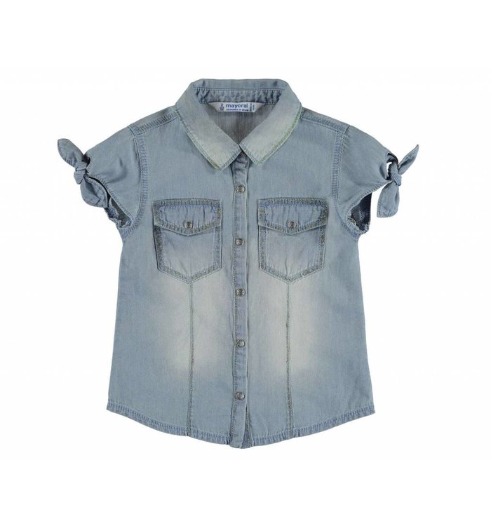 Mayoral Mayoral Denim Blouse, CR