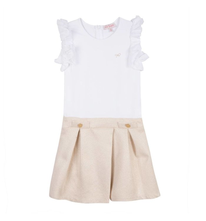 Lili Gaufrette Lili Gaufrette Baby Dress, CR