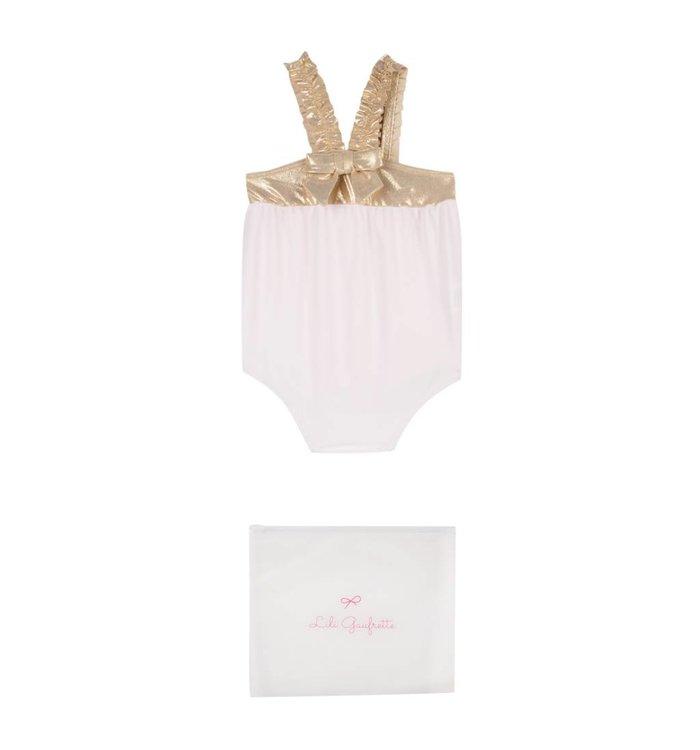 Lili Gaufrette Lili Gaufrette Baby Bathing Suit, CR