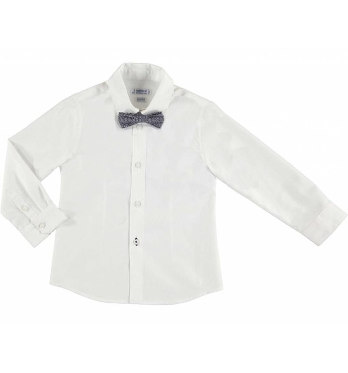 Mayoral Mayoral, Shirt with Bowtie,  CR19