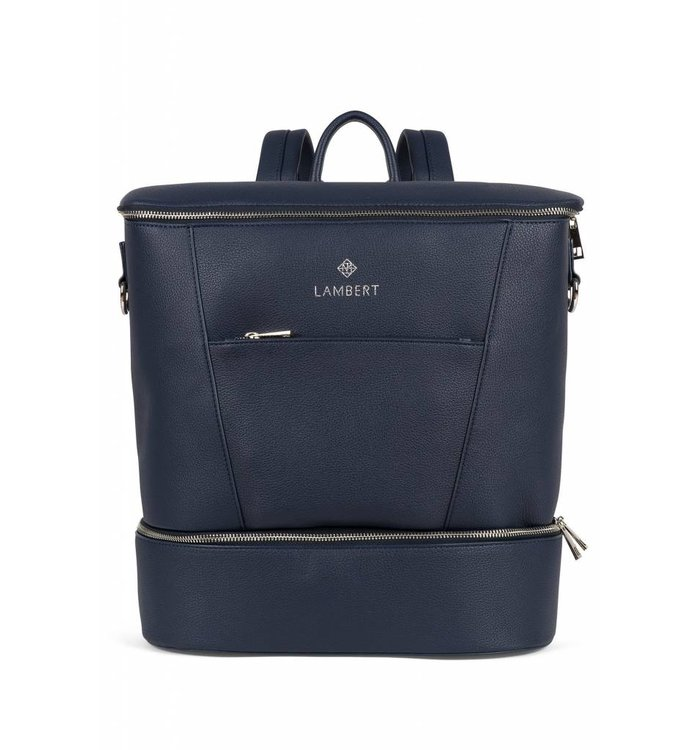 Lambert LAMBERT NAVY VEGAN DIAPER BACKPACK