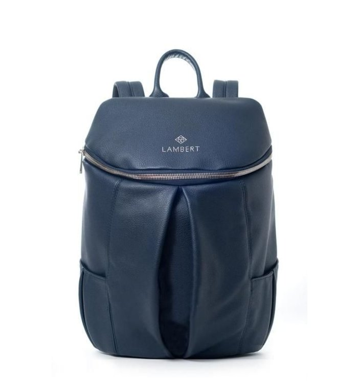 Lambert LAMBERT VEGAN NAVY BACKPACK